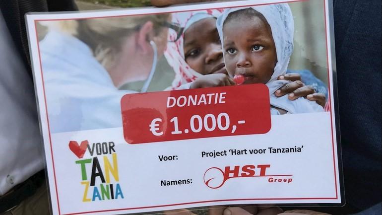Donatie van HST Groep